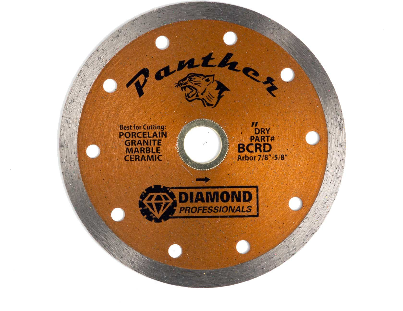 5'' BRONZE WET/DRY TILE BLADE (PANTHER) BCRD05