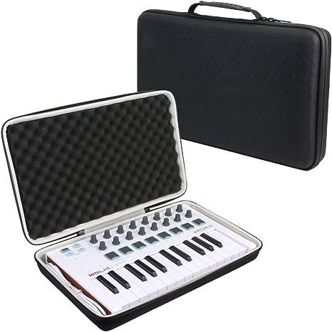 khanka Duro Viaje Estuche Bolso Funda para Teclado Arturia MiniLab MkII(caja solo): Amazon.es: Instrumentos musicales