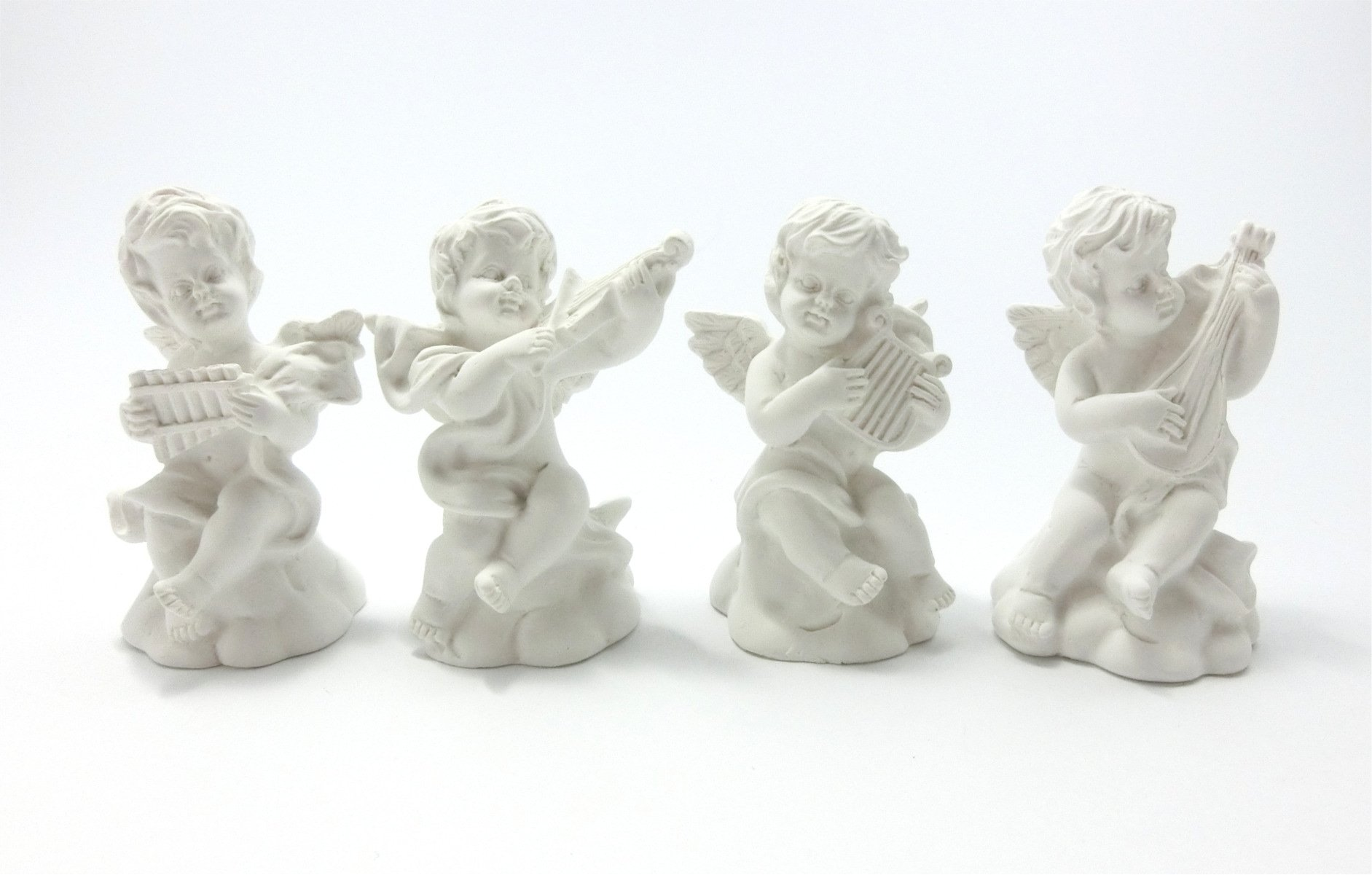 [Seoveru] THEOVEL plaster-style mini replica set of 4 Angel / in Drawing replication model interior / angel T0386