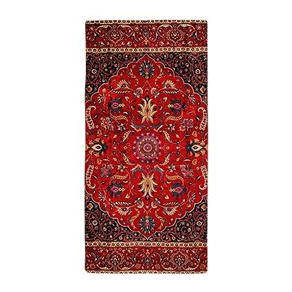 CafePress – Persian Mashad alfombra – Toalla de playa de gran tamaño, suave toalla de