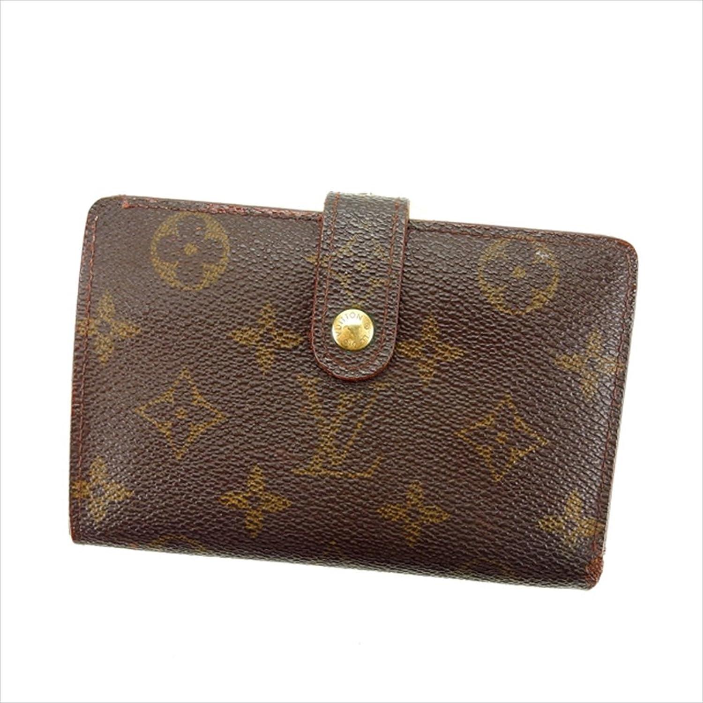 [ルイヴィトン] Louis Vuitton がま口財布 二つ折り 男女兼用 ポルトモネビエヴィエノワ M61663 モノグラム 中古 Y4619 B0772VKZ2R