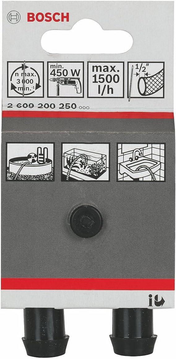 Bosch 2609255713 Pompe universelle pour Perceuse /Ã/ carter plastique antichoc Raccord 1//2 Haut aspi max 4 m Refoulement max 40 m