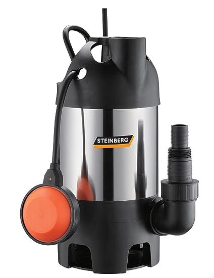Steinberg 46024 Bomba para aguas residuales (Acero Inoxidable PZ 600 Inox, hasta 8000 L