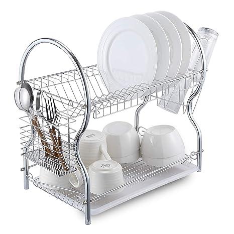 Kitchen Craft Utensils Rack Chrome