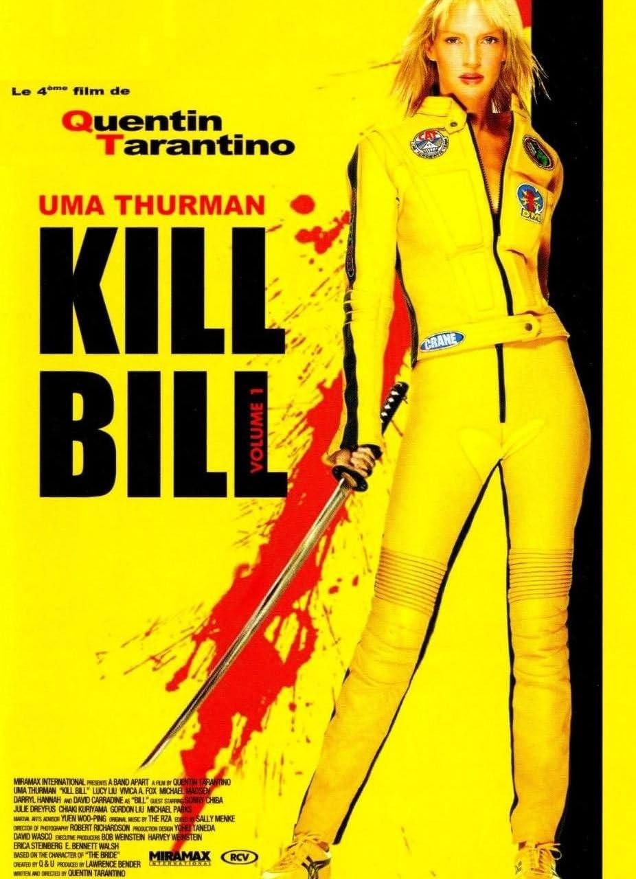 Kill Bill Affiche de Film Originale 40x53 cm Roul/ée