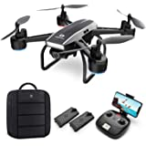DEERC Drone with Camera for Adults 1080p Full HD FPV Live Video 120° Wide Angle, Altitude Hold, Headless Mode, Gesture Selfie