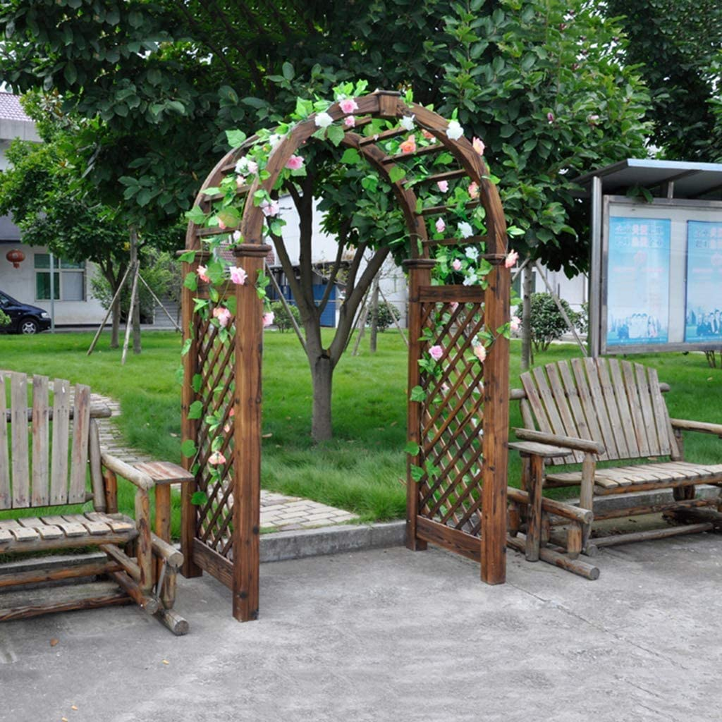 LLDKA Arca Jardín, Árbol de Madera en el jardín en-Tapas de ...