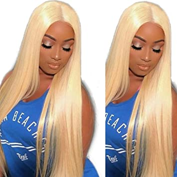 Amazon.com : Full Lace Wig Human Hair Wigs