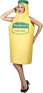 Vegaoo - Disfraz de mayonesa Adulto Original - Única: Amazon.es ...