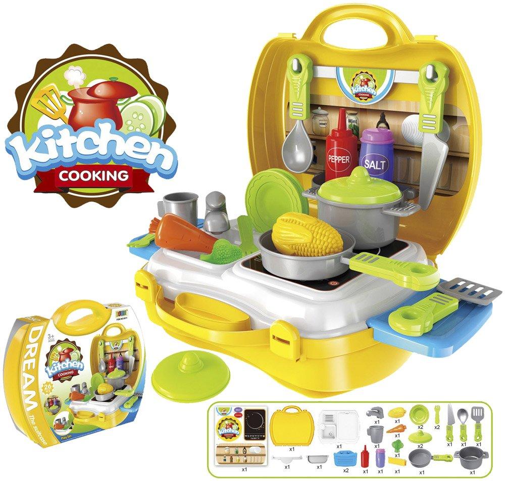 Atemberaubend Kinderküchenset Zeitgenössisch - Ideen Für Die Küche ...