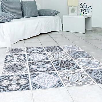 Frolahouse Mediterranen Stil Bodenfliesen Aufkleber Wohnzimmer