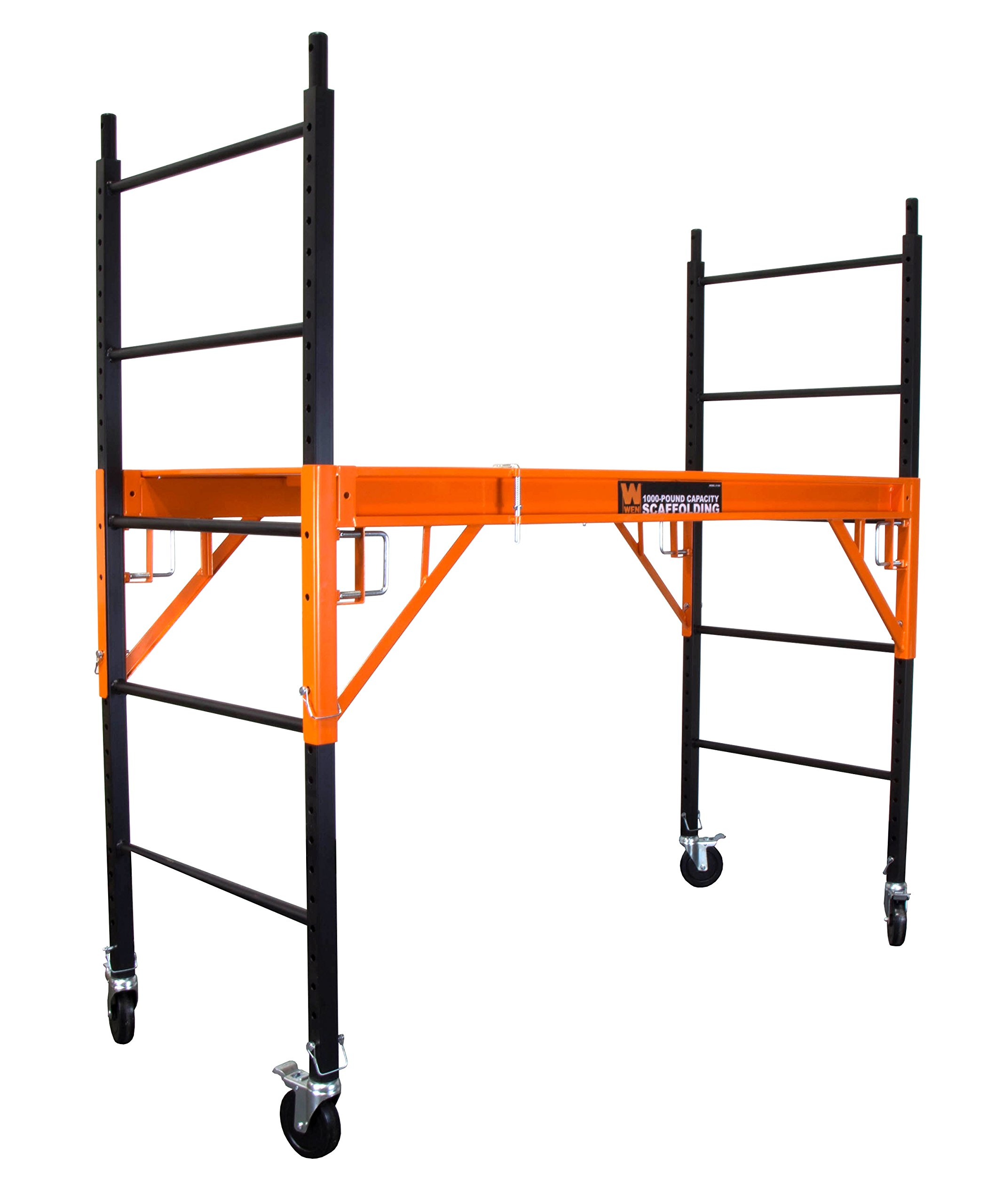 WEN 31109 1000 lb Capacity Rolling Industrial Scaffolding by WEN (Image #1)