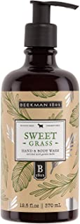 product image for Beekman 1802 - Hand & Body Wash - Sweet Grass - Multipurpose Goat Milk Wash for Soft Skin & Washing Away Impurities - Cruelty-Free Bodycare - 12.5 oz