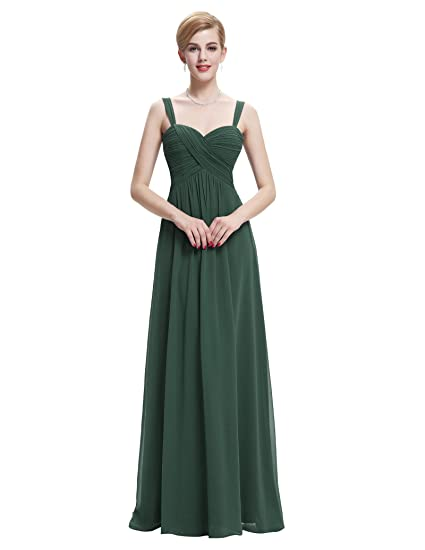 6dbde675253fd Belle Poque Women's Full Length Evening Chiffon Prom Dresses 2018 Long  Homecoming Dress