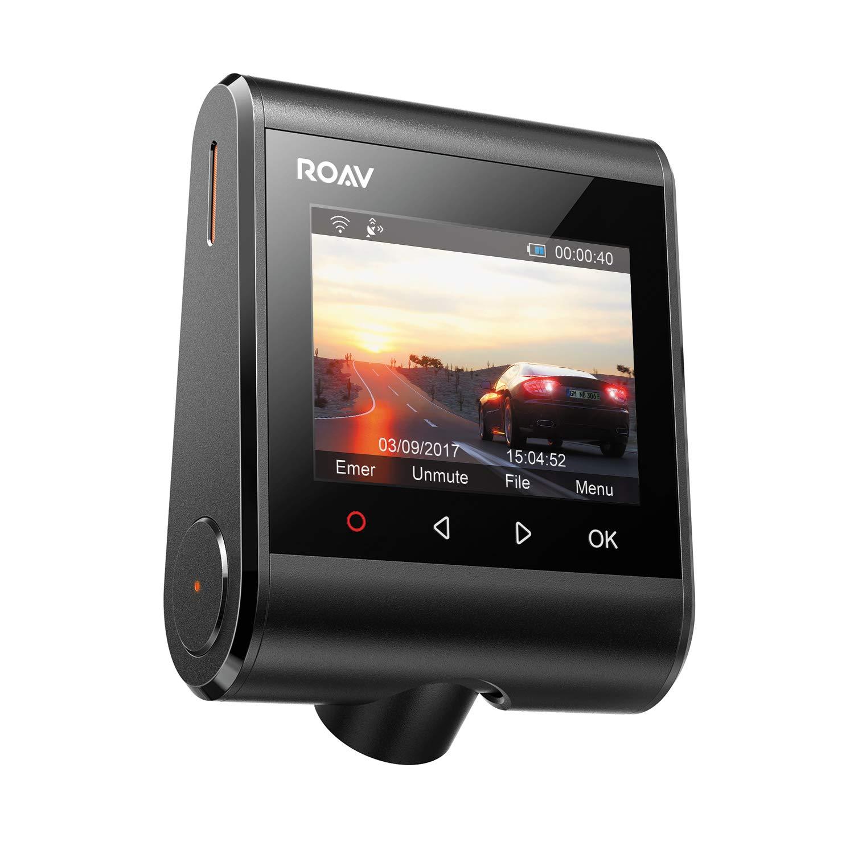 inkl Anker 2 Port Kfz Ladeger/ät mit Power IQ Technologie Nachtsicht Anker ROAV DashCam C1 WDR 145/° Weitwinkel Wifi Auto Kamera mit 1080P Full HD mit G-Sensor