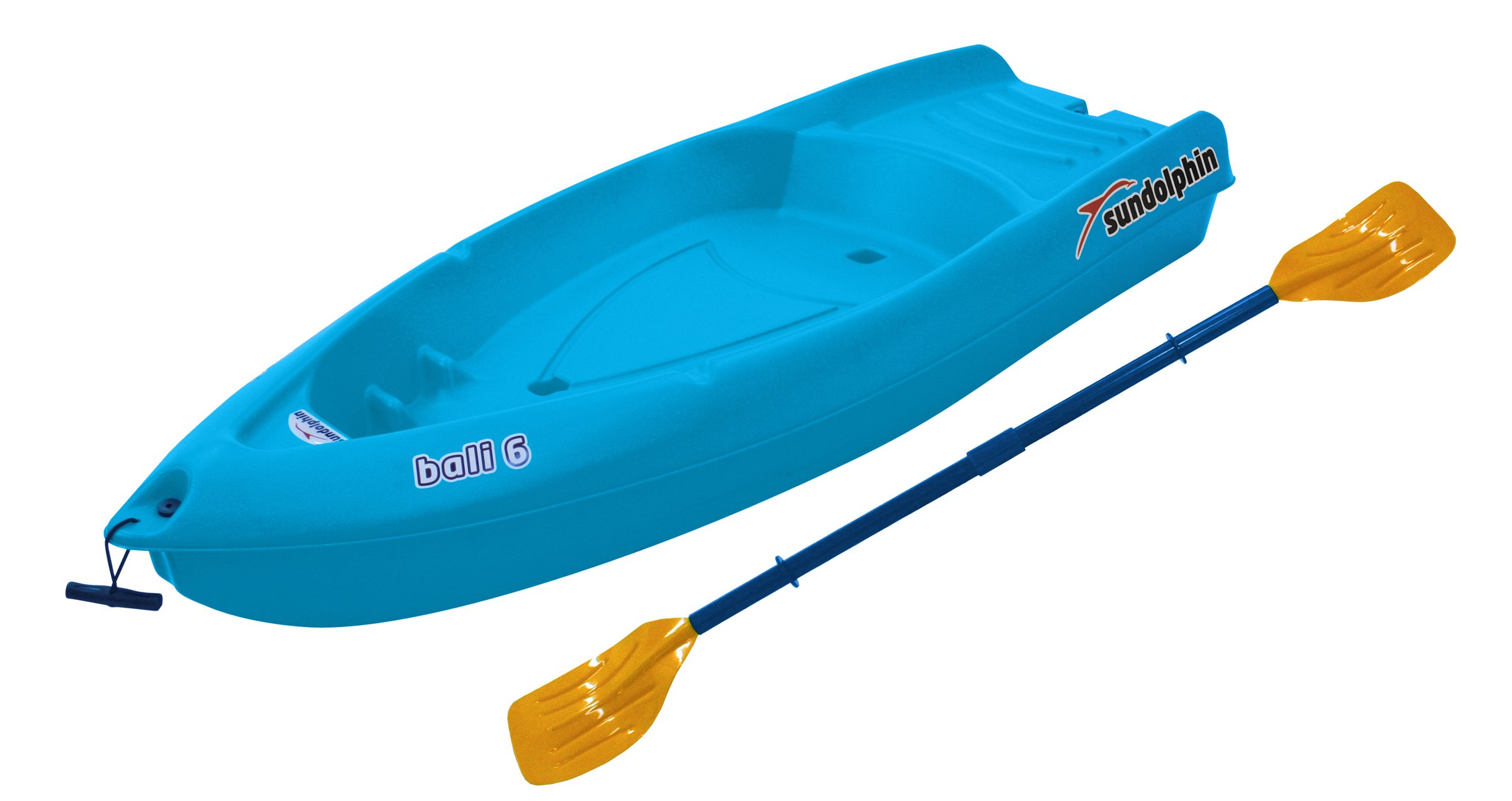Sun Dolphin Bali Sit-on-top Kayak (Ocean, 6-Feet) by SUNDOLPHIN