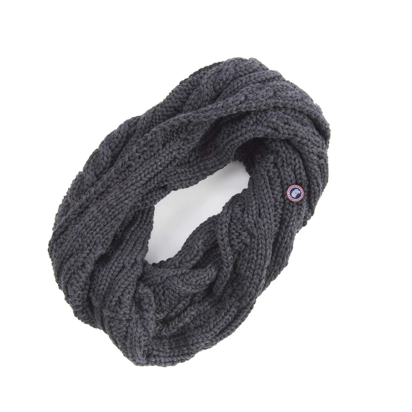 Canada Goose Merino Chunky Cable Snood Graphite 5313L One Size by Canada Goose (Image #1)