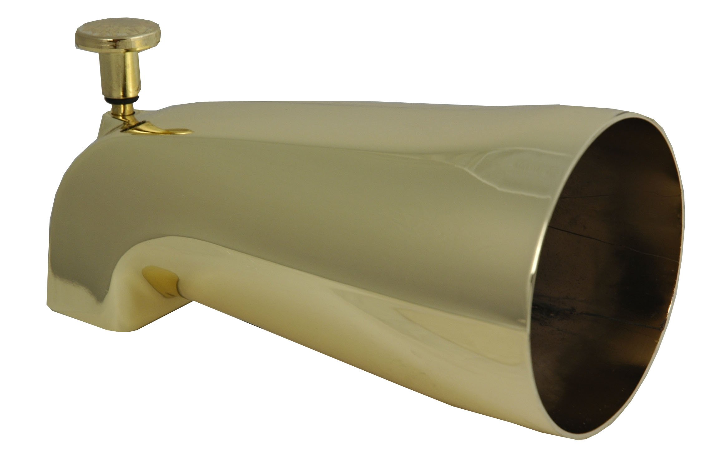 Diverter Spout, Polished Brass PVD (No-Fading) Finish, By Plumb USA