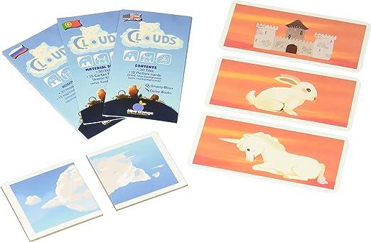 Juego de Nubes de Naranja Azul, Multicolor: Amazon.es: Juguetes y juegos