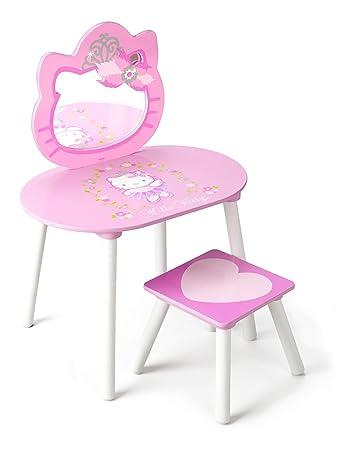 Hello Kitty Vanity and Stool Set. Hello Kitty Vanity and Stool Set  Amazon co uk  Baby