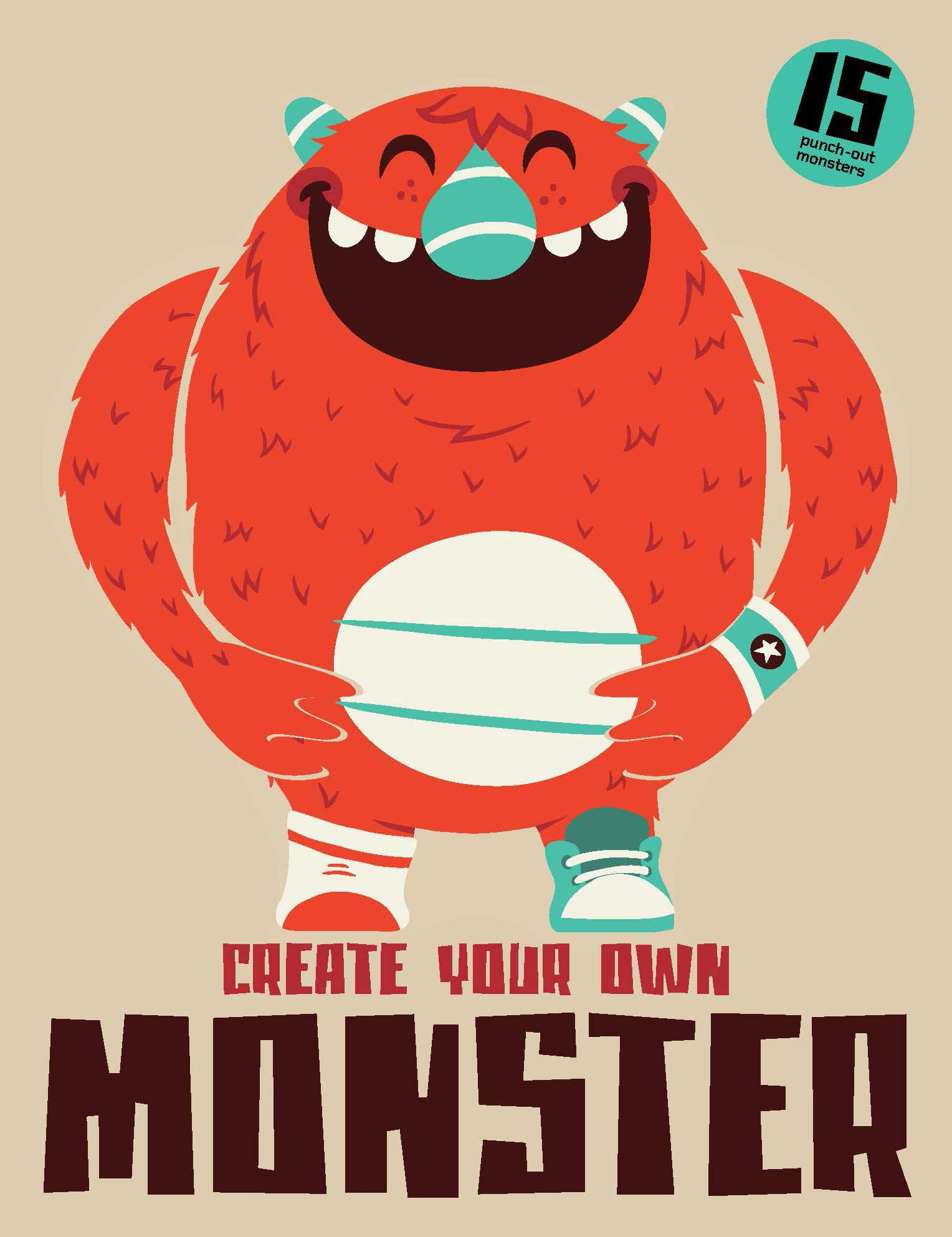 Create Your Own Monster: Amazon.co.uk: Magma Books: 9781856699303 ...