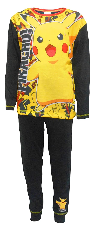 Boys Pyjamas PJs Pokemon Pikachu 5-6 7-8 9-10 11-12 Years