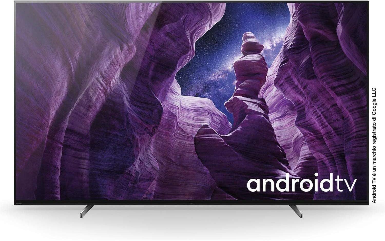 Sony KD65A89BAEP - Televisor (Ultra HD, HDR, OLED-TV, 65