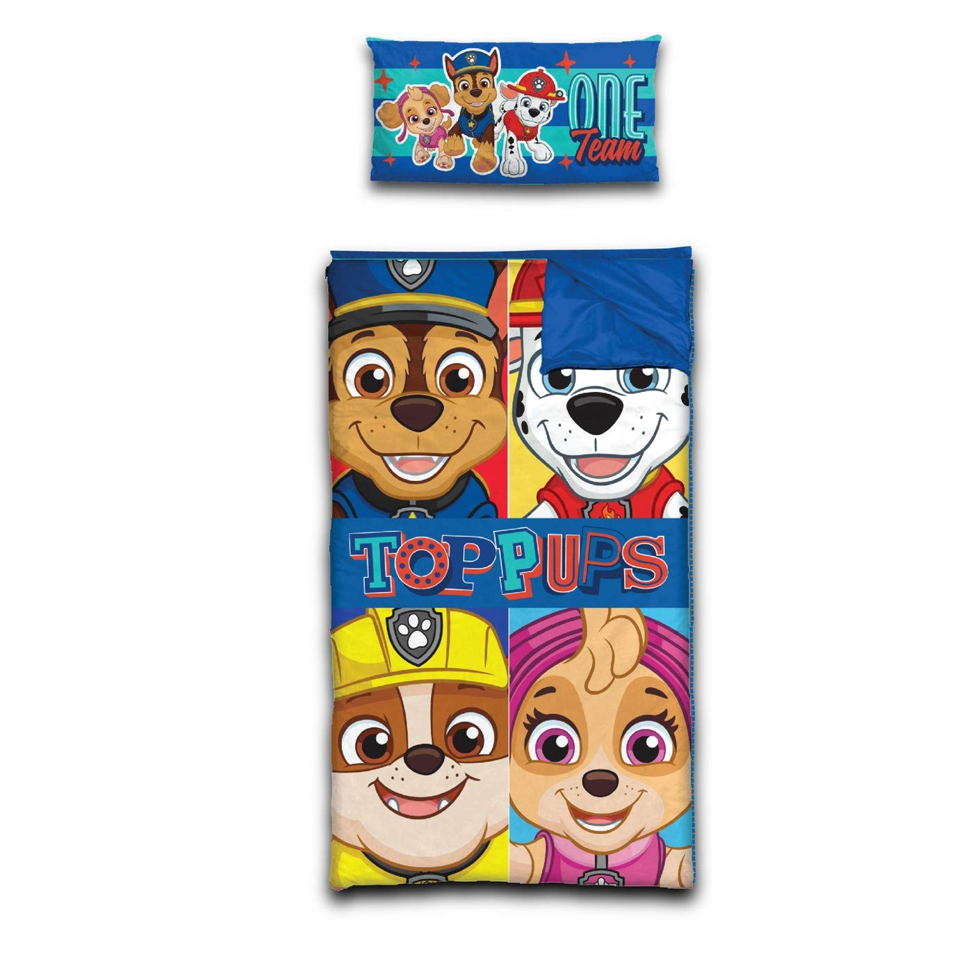 Paw Patrol Slumber Bag Pillow Idea Nuova