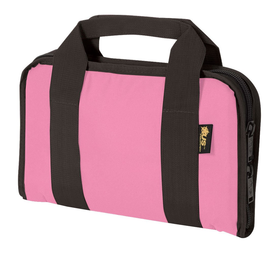 US Peacekeeper P21123 Attache Gun Case (Pink) by US PeaceKeeper Products