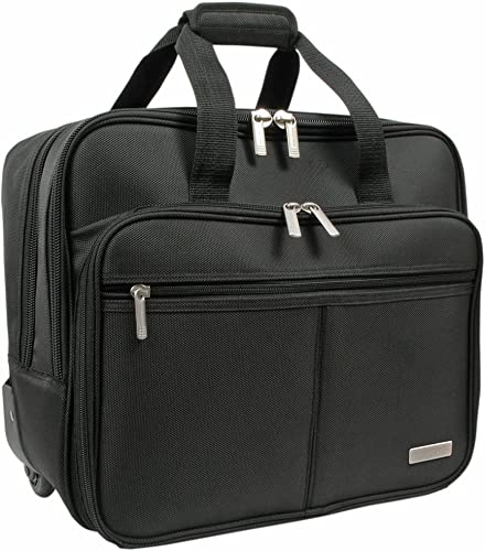 Geoffrey Beene Rolling Business Case, Black, One Size