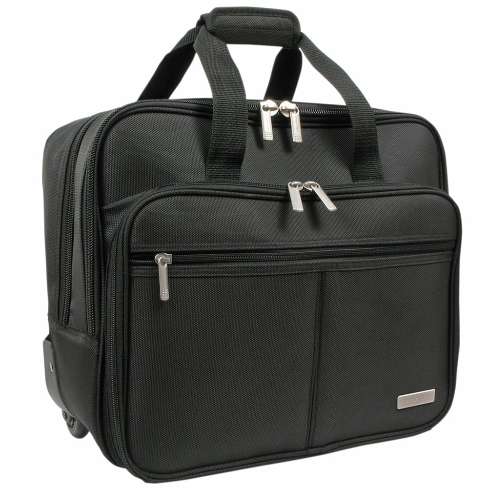 Geoffrey Beene Rolling Business Case, Black, One Size by Geoffrey Beene (Image #1)