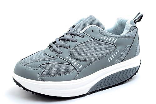 mapleaf Zapatos de Mujer sneaners Fitness adelgazantes Deportivas Gimnasia: Amazon.es: Zapatos y complementos
