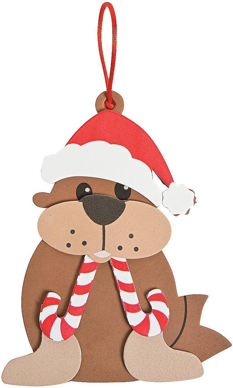 Penguin Foam Ornament Craft Kit//Christmas//Craft Kits//Art /& Crafts//Toys//Ornaments Oriental Trading Company