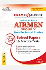 Indian Air Force Airmen Group Y Non - Technical Trades Exam Goalpost Solved Papers & Practice Tests, 2019 Paperback