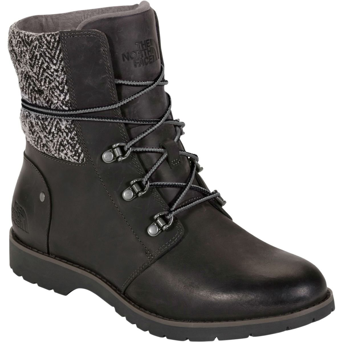 The North Face Women's Ballard Lace Up Boot B00RW5EBJC 10.5 B(M) US Paloma Grey/Tnf Black Jumbo Herringbone/Textile (Prior Season)