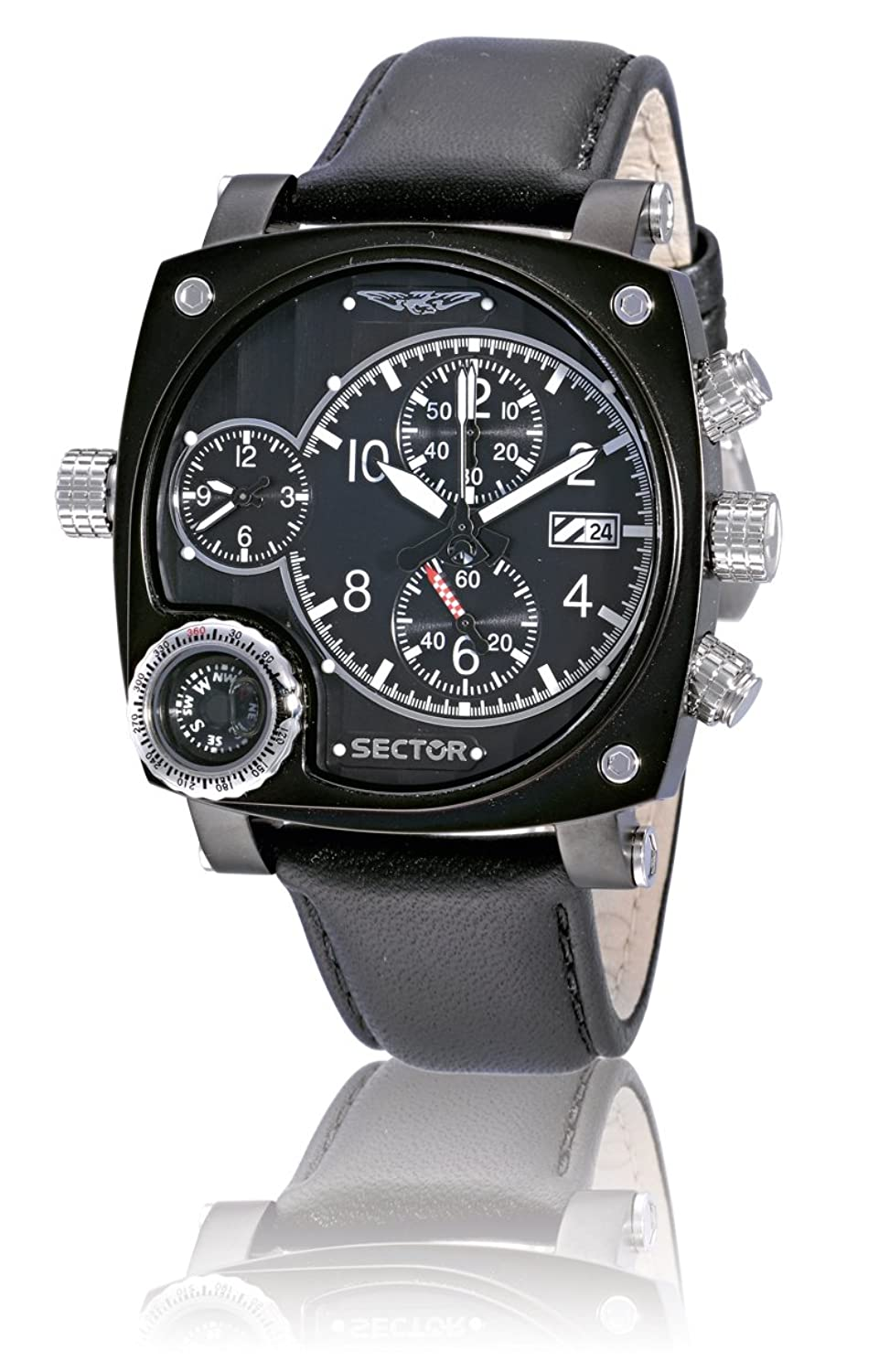 Sector Herren-Armbanduhr Compass im Special Pack R3251907025