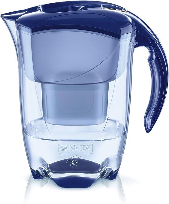 BRITA Elemaris Cool Blau 1024028, Azul, 2.4 litros, 4 Unidades ...