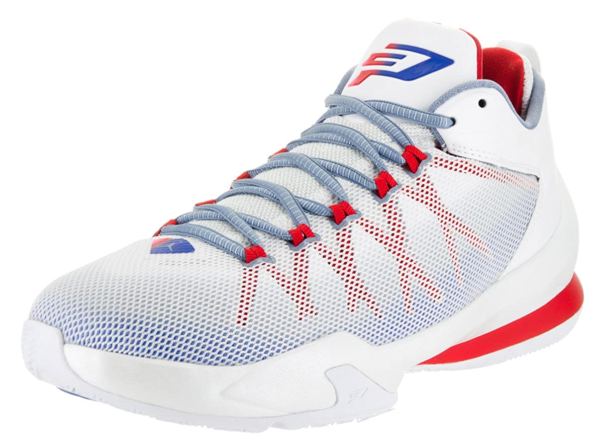 sale retailer fd614 4a860 Jordan CP3.VIII AE Men's Basketball Shoes White/Game Royal/Spirit Red/Blue  725173-107 (10 D(M) US)