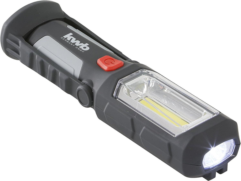 Hand Stab Taschen Werkstatt Leuchte Lampe 26+9 LEDs Akku LED Arbeitsleuchte