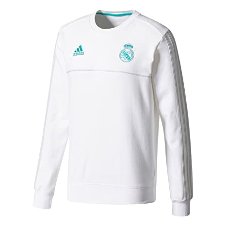 : adidas 2017 2018 Real Madrid Sweat Top (White