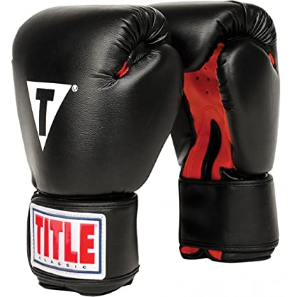 amazon com title classic boxing gloves sports outdoors