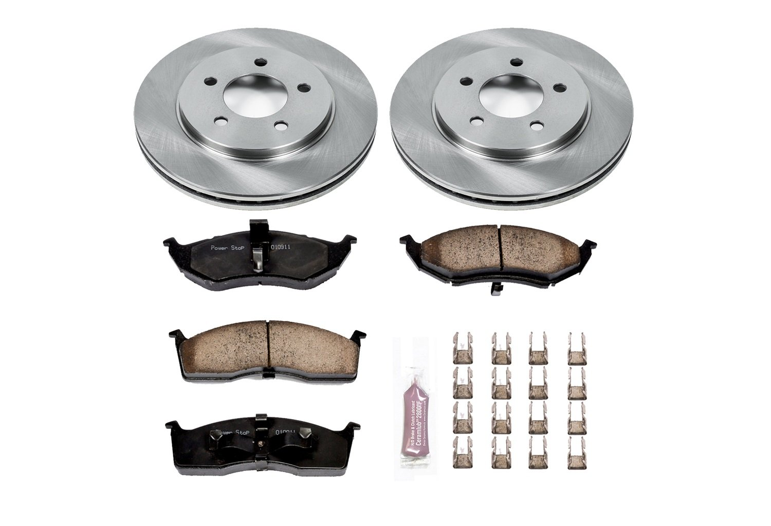 Autospecialty KOE2140 1-Click OE Replacement Brake Kit Power Stop