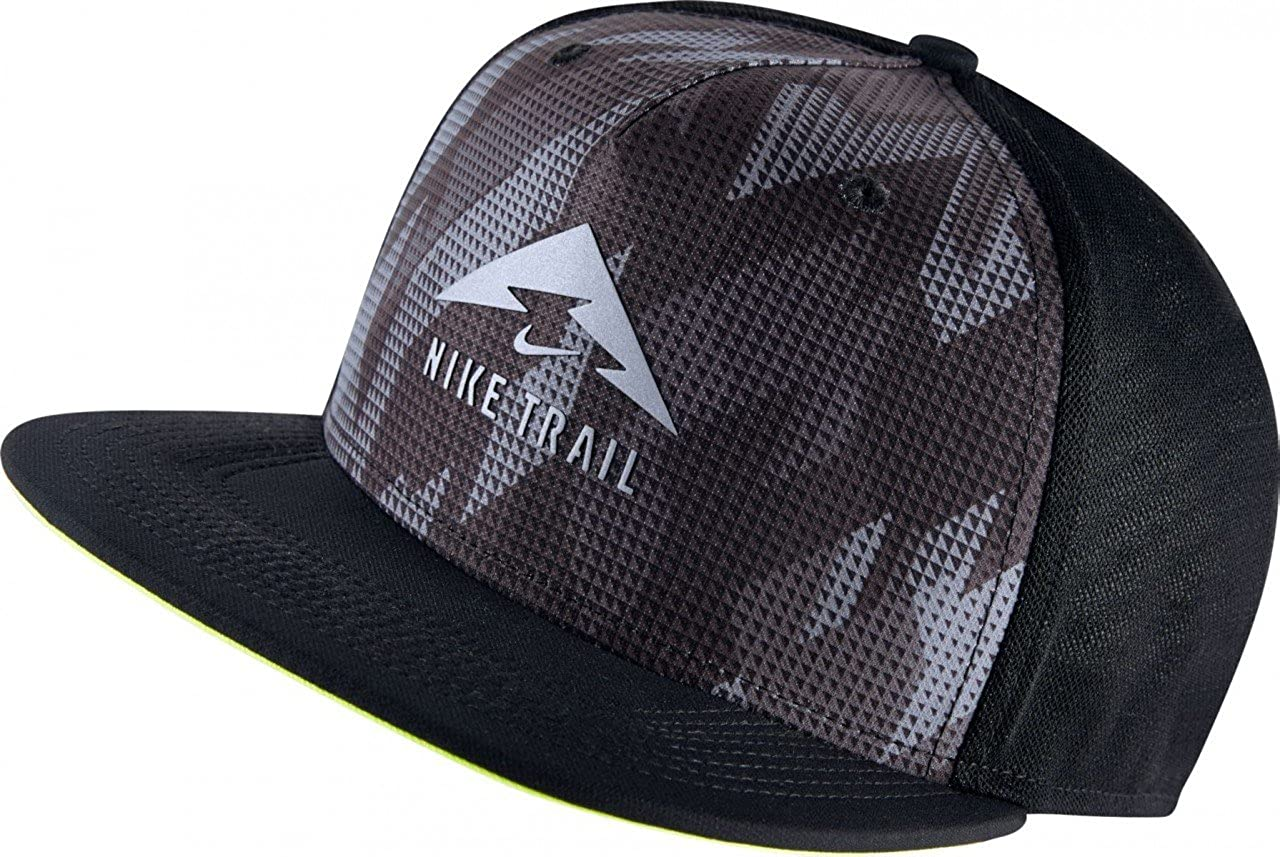Nike U Arobill Trail Gorra de Tenis, Hombre, Negro (Black/Volt ...