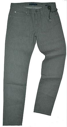 Ralph Lauren Hose Damen Grau Baumwolle Gr  26  Amazon.de  Bekleidung d2576036ae