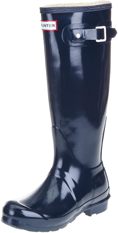 Navy Hunter Women's Original Gloss Snow Boot