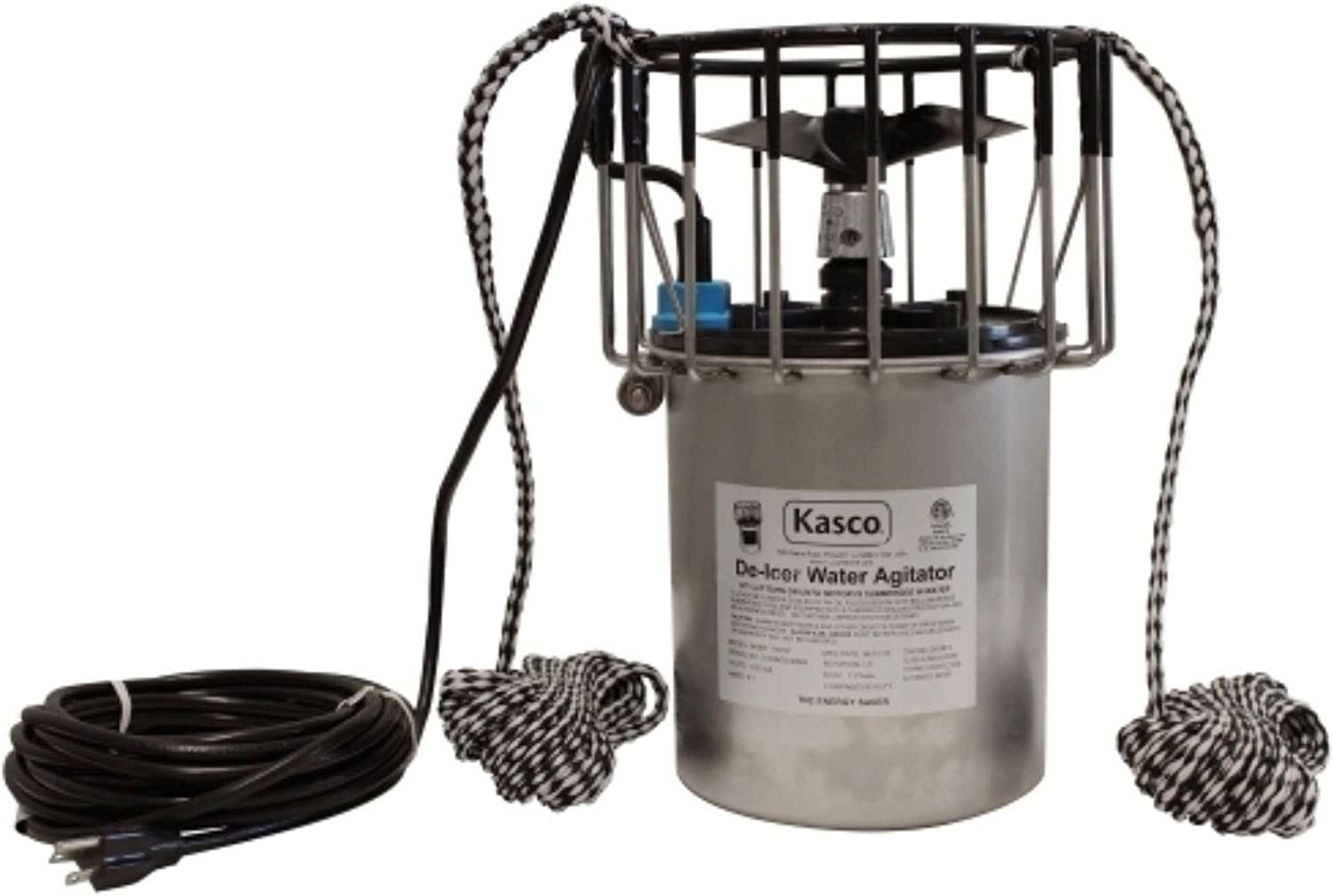 Kasco Marine 3400D100 - De-Icer, 3/4hp, 120 volts, Clears A Circle Up To 75' Diameter, 100' Cord