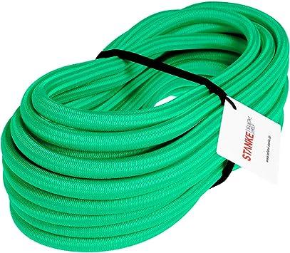 Seilwerk STANKE Gummiseil Expanderseil Blau 8 mm 25 Meter Gummileine Spannseil Planenseil Gummischnur