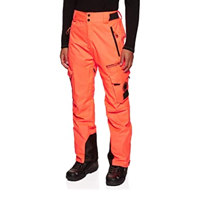 7e0b85f67258d Superdry Pantalon De Ski Snow Pant Hyper Orange: Amazon.fr ...