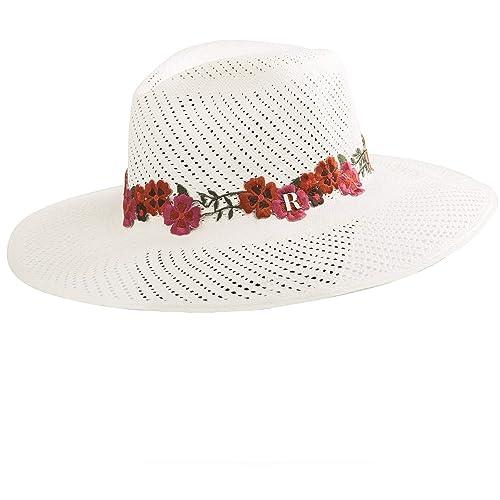 RACEU ATELIER Sombrero Panamá Portofino - Sombrero Mujer ...