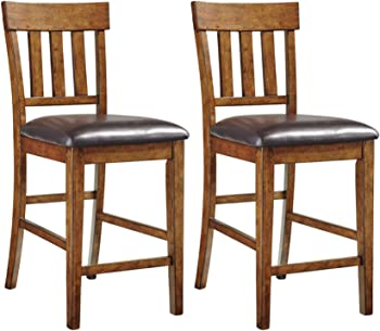 Set of 2 Signature Design by Ashley Ralene Counter Height Bar Stool